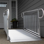 GATEWAY™ 3G Solid Surface Portable Ramp - Featuring a seamless, slip-resistant surface, GATEWAY™