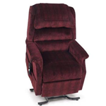 Royal Lift Chair - Tastefully designed, featuring our 3-pillow waterfall back cushi
