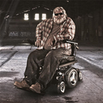 M300 Corpus® HD Mid Wheel Power Wheelchair - The M300 Corpus® HD, a heavy duty power wheelchair designed
