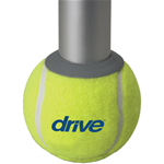 Tennis Ball Glides with Replaceable Glide Pads - 