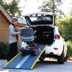 SUITCASE® Singlefold GF (Graphite Fiber) - The Suitcase Singlefold GF Ramp is made of glass reinforced