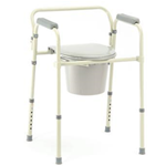 Commode, Folding - Invacare Commodes offer consumers the comfort and stability