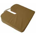 "Cushion Coccyx, Sloping Travel - 3"" U-Shaped opening provides pressure relief for the coccyx tail"