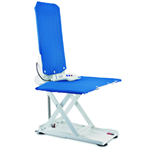 Aquatec R, Reclining Back Bath Lift - Blue - The Aquatec R is a reclining back bath lift that offers smooth a