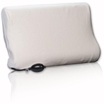 Memory AirCore Cervical Pillow W/ Air Bladder Pillow - As its resilient, precision-cut foam base and adjustable air cha