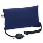Small Inflatable Lumbar Cushion Blue - Feel the increasing levels of support with the squeeze of the ha