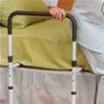 EZ Grip Bed Rail Support - Easy to use - in and out of bed.