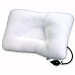 Air Core Cervical Pillow - Adjustable - Our popular Tri-Core® pillow with convenient air pump adjust