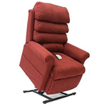 Elegance Collection, 3 Position, Full Recline, Chaise Lounger Lift Chair, LC-470LT - This LC-470LT Lift Chair from the Elegance C