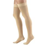 Truform Compression Socks - Truform 0364 (20-30 Compression Opaque Thigh High Stockings)<