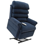 Elegance Collection, 3 Position, Full Recline, Chaise Lounger Lift Chair, LC-470W - This LC-470W Lift Chair from the Elegance Co