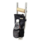 EZ-ACCESSORIES® Universal Crutch Pouch - Keep all of your essential items within reach even with limit