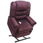Elegance Collection, 3 Position, Full Recline, Chaise Lounger Lift Chair, LC-465 - This LC-465 Lift Chair from the Elegance Col