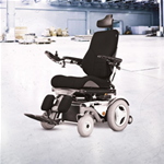 C350 Corpus 3G Rear Wheel Power Wheelchair - Featuring a rear-wheel drive power base and two different speed