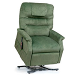 Monarch Lift Chair - With an ultra soft back pillow and plush seat and arms, the Mona