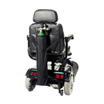 EZ-ACCESSORIES® Scooter Single Oxygen - The Scooter Single Oxygen is a large single tank pocket with
