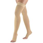 Truform Compression Socks - Truform 0362 (20-30 Compression Opaque Thigh High Stockings)<
