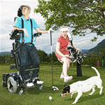 C400 VS JR Front Wheel Power Wheelchair - The C400 VS Jr. redefines the way standing is incorporated into