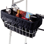 EZ-ACCESSORIES® Walker Basket Liner - Add privacy and prevent small items from falling through your