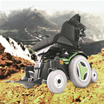 M300 Corpus 3G Mid Wheel Power Wheelchair - The M300 features the ground-breaking, patent-pending Climbing a